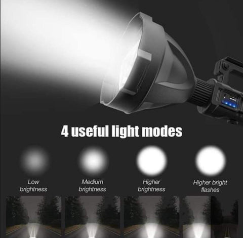 2000W Multifunctional Pistol light with tripod & handgrip
