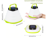 Collapsible Solar Camp Light/Lamp