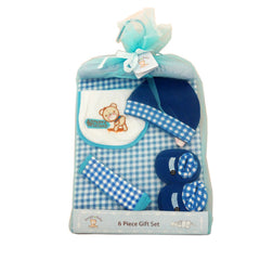 Snugly Baby Infant 6 Piece Gift Set, - FS GIFTS