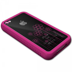 XtremeMac iPhone 4 Pink Microshield Tatu Silicone Case - FS GIFTS
