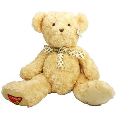 Dakin 14 Inch Teddy Bear With Bowtie, - FS GIFTS