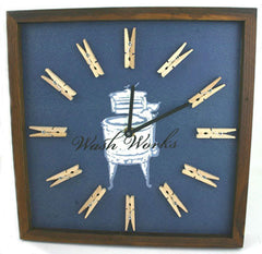 Wash Works Wall Clock - FS GIFTS