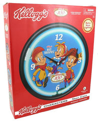 Kellog's Rice Krispies Character Neon Clock - FS GIFTS