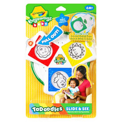 Crayola Beginnings Baby TaDoodles Slide & See - FS GIFTS