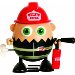 Eggbods Fireman Scramble Wind Up Toy - FS GIFTS
