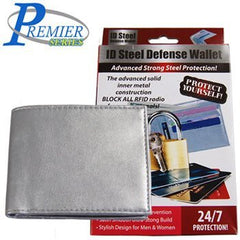 Premier Id Steel Defense Wallet Mens/Womens - FS GIFTS