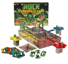 The Incredible Hulk 3-D Rampage Game - FS GIFTS