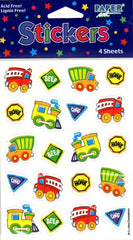 Paper Art Around Town 80 Count Sticker Set - FS GIFTS