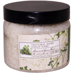 Natural Herb Foot Care Spearmint Green Tea Foot Soak /Salt - FS GIFTS