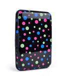 Card Guard Aluminum Compact Card Holder -Black Dots