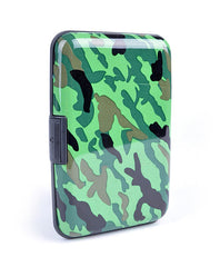 Card Guard Aluminum Compact Card Holder - Camouflage - FS GIFTS