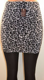 Bossani Skeggings Skirt & Leggings Animal  Print, One Size Fits All