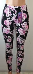 Shosho Womens Floral Print Leggings - FS GIFTS