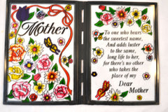 Mother Stained-Glass Plaque - FS GIFTS