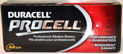 Duracell PC1500 Procell AA Size Alkaline Battery Made in the USA.