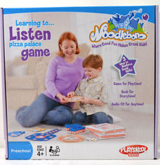 Playskool Noodleboro Learning To Listen Pizza Palace Game - FS GIFTS