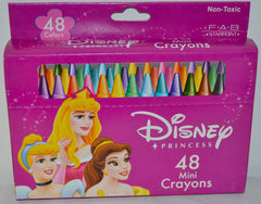 Disney Princess Assorted 48 PC Mini Crayons - FS GIFTS