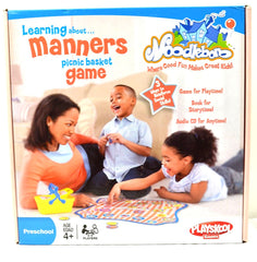 Playskool Noodleboro Learning About Manners Picnic Basket Game - FS GIFTS