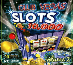 Club Vegas - 10,000 Slots Volume 2 --PC Game - FS GIFTS