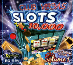 Club Vegas - 10,000 Slots Volume 1- PC Game - FS GIFTS