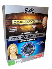 It's 2Fer Time! 2 For 1 Interactive DVD Games - FS GIFTS