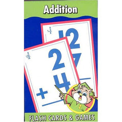 Addition Home Learning Tools Flash Cards & Games - FS GIFTS