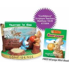 Scripture Teachers Confidence Card Holder For Kids - FS GIFTS