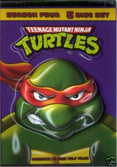 TEENAGE MUTANT NINJA TURTLES SEASON FOUR ( MOVIE)--NEW - FS GIFTS