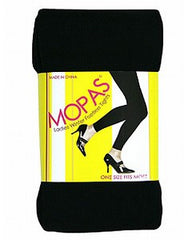 Mopas Ladies Winter Footless Tights, One Size Fits Most,Styel #LT101 - FS GIFTS