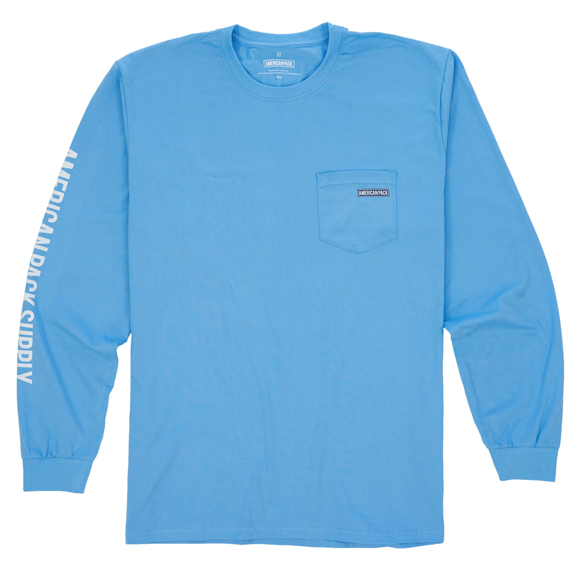 Long-Sleeve American Pack Pima
