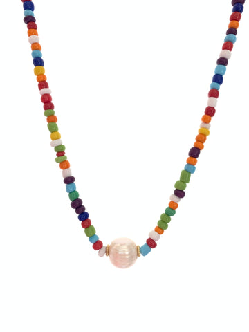 Candylicious necklace pearl