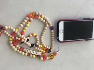 Mobile chain multi colour
