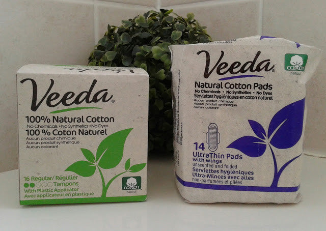 What's in our conventional feminine products are the things that Veeda leaves out