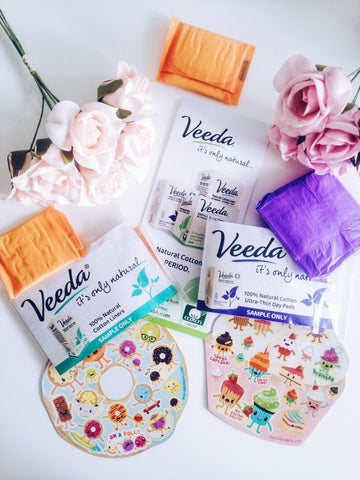 Safe natural cotton liners and pads
