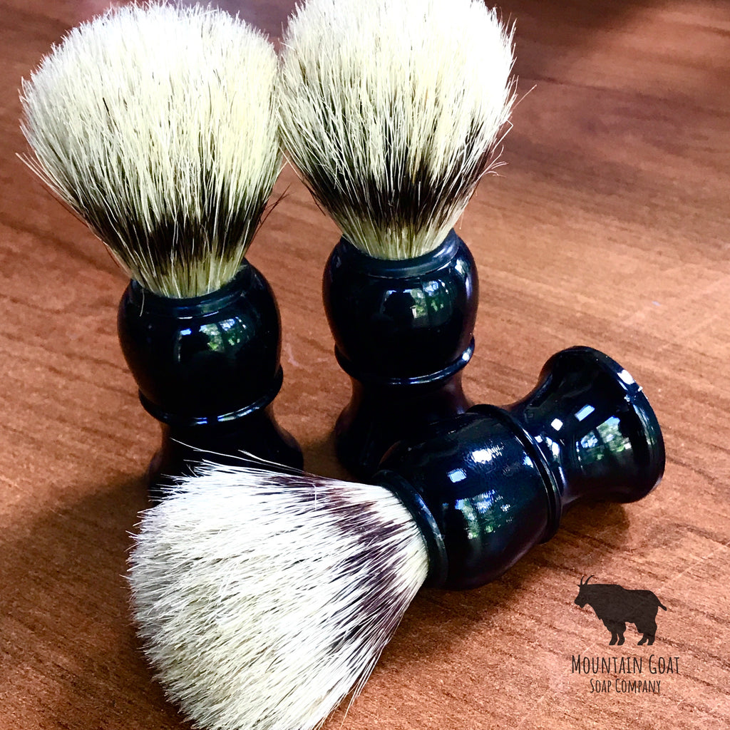 Shave Brush - Mountain Goat Soap Co.