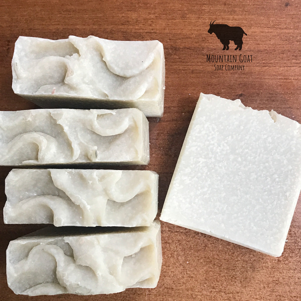 Zebra Grass Salt Bar (Aloe & Sea Kelp) - Mountain Goat Soap Co.