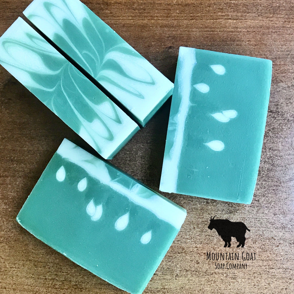 High Alpine Shower (Willow & Ivy) - Mountain Goat Soap Co.