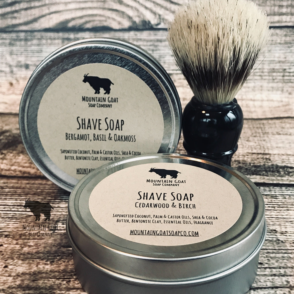 Shave Kit Gift Set - Mountain Goat Soap Co.