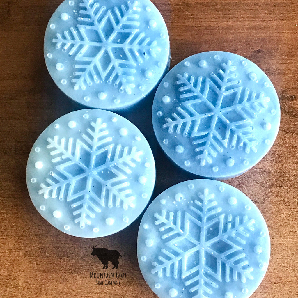 Frosty the Snowflake (Citron & Jasmine) PRE-ORDER - Mountain Goat Soap Co.