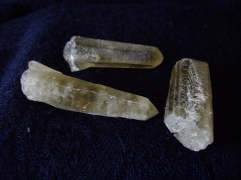 Rough Ouro Verde Quartz Crystal Point