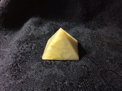 Natural Green Agate Pyramid