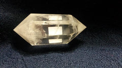 Clear Quartz Crystal Double Terminated Point