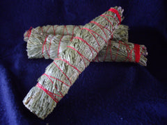 Flat Incense Cedar Smudge Stick