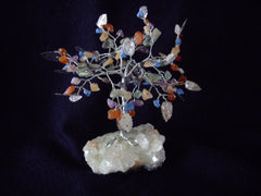 Healing Chipped Multi Gemstone Tree