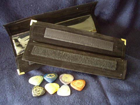 Heart Stone Chakra Kit in Traveling Case