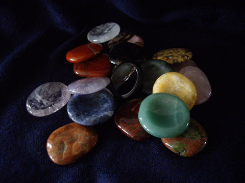 Mixed Natural Gemstone Worry Stones