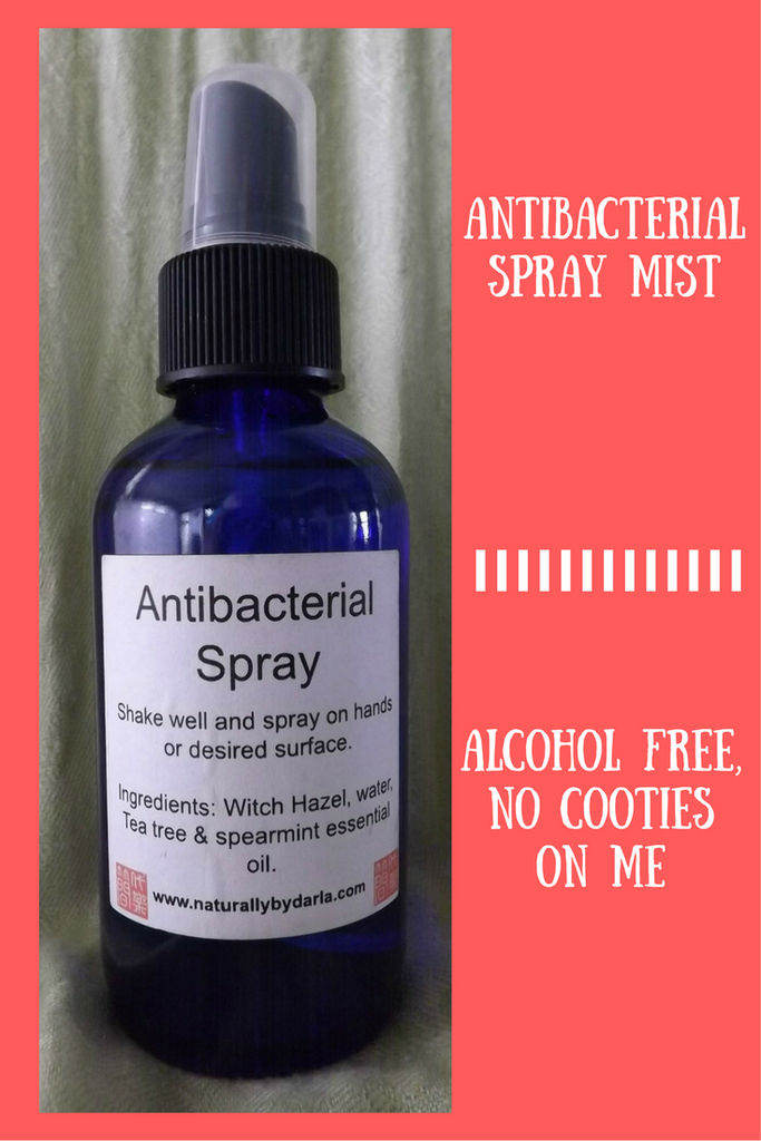 Antibacterial Spray Mist