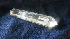 Double Terminated Clear Quartz Crystal Point