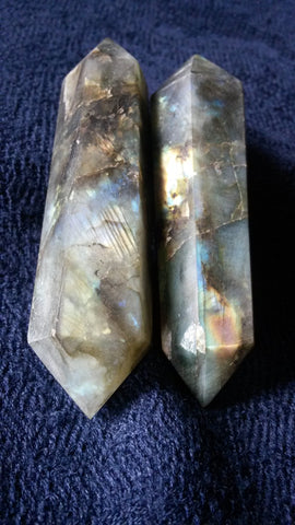 Labradorite Crystal Double Terminated Point