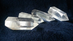 Natural Clear Quartz Crystal Standing Point